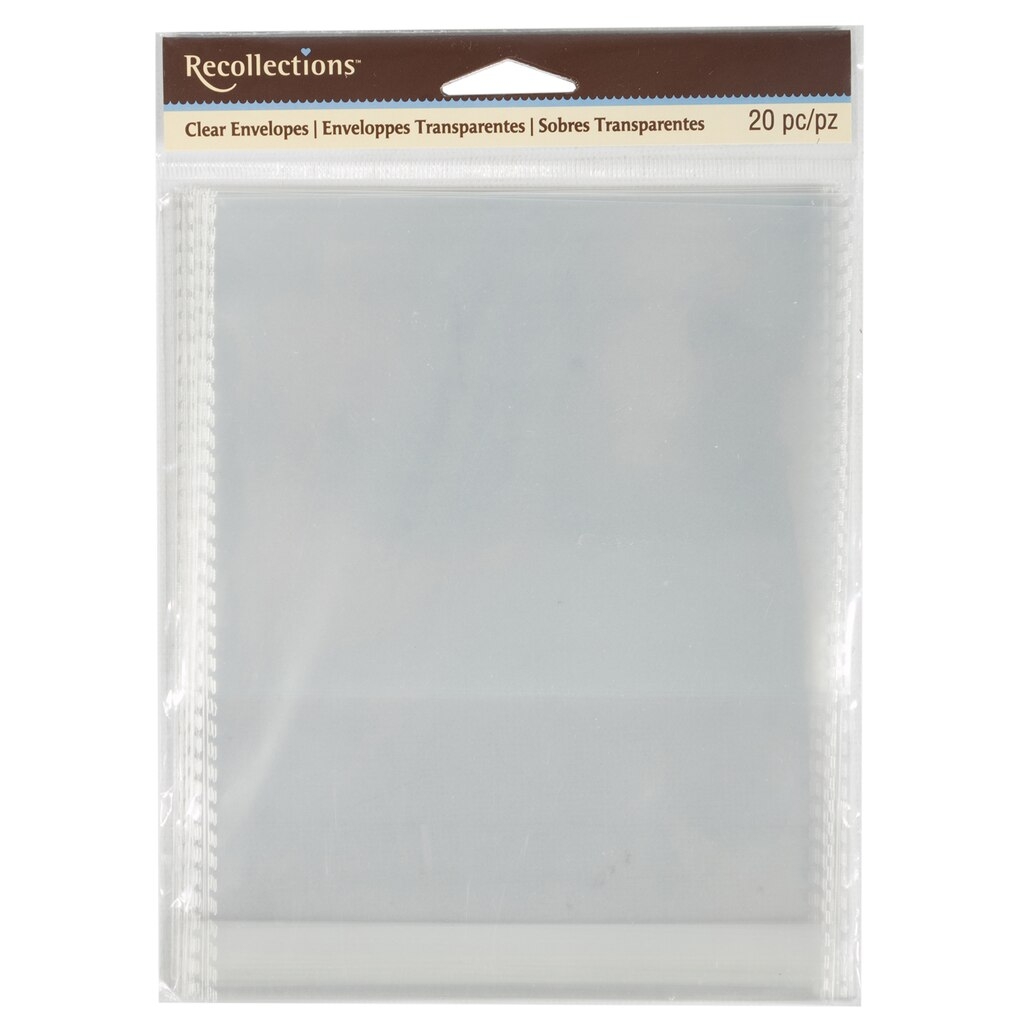 Buy the a2 clear envelopes by recollections at michaels a2 clear envelopes by recollections m4hsunfo