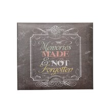C.R. Gibson E-Complete Chalkboard Scrapbook, Cover