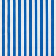 Royal Blue Stripes Oilcloth