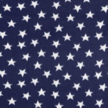 Navy & White Stars Fleece