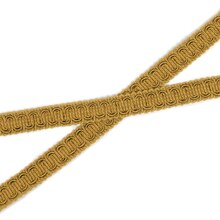 "1/2"" Old Gold Scroll Gimp - 36 Yards"