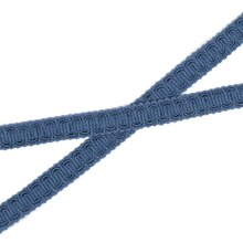 "1/2"" French Blue Scroll Gimp - 36 Yards"