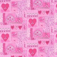 Pink Ribbon Patchwork