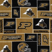 Purdue Boilermakers Allover NCAA Fleece