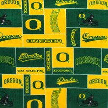 Oregon Ducks Allover NCAA Fleece