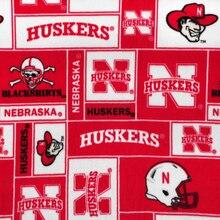 Nebraska Cornhuskers Allover NCAA Fleece