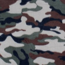 Green Camouflage Fleece