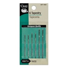 9 Tapestry Hand Needles - Size 18/22