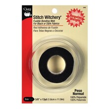 "Stitch Witchery Black Regular Weight - 5/8"" x 13 Yards"