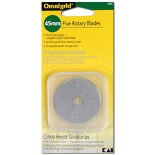 45mm Replacement Rotary Blades - 5 Pack
