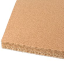 Cashmere Tan Adhesive Felt Sheets