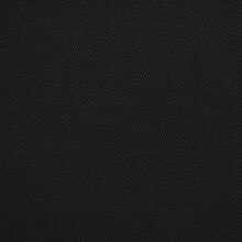 Black Poly Cotton Twill