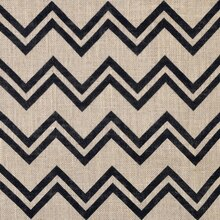 Step Angles Printed Burlap