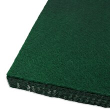 Kelly Green Adhesive Felt Sheets