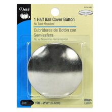 Dritz Half Ball Cover Button, Size 100