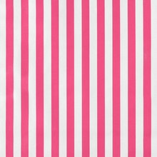 Pink Stripes Oilcloth