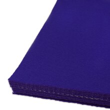 Royal Blue Adhesive Felt Sheets