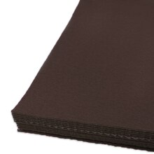 Cocoa Brown Adhesive Felt Sheets