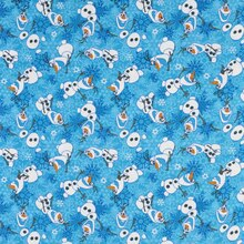 Disney Frozen Olaf Winter Snowflakes Flannel