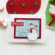 Snowman Pop-Up Card, medium