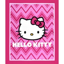 Sanrio Hello Kitty Chevron Panel