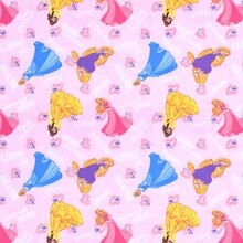 Disney Princess Kind & True Word Toss Flannel