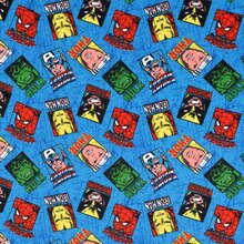Marvel Comics Hero Portrait Toss Flannel