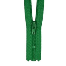 "YKK 9"" Jewel Green #3 Closed End Zipper"