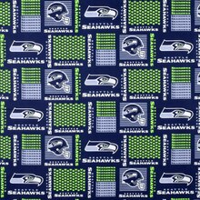 Seattle Seahawks Patchwork NFL Cotton