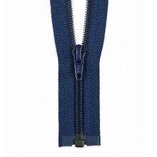 "YKK 36"" Crayon Blue #5 Nylon Coil Open End Zipper, medium"