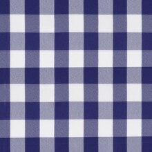 Royal Blue Picnic Check Poplin