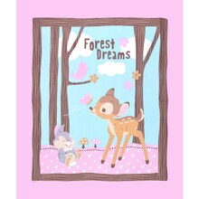 Disney Bambi Woodland Dreams Panel