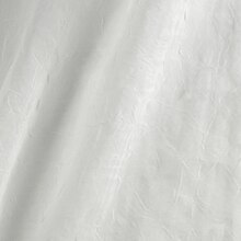 108 Inch White Crushed Voile