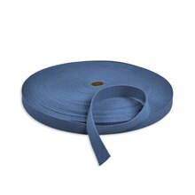 "1"" Royal Blue Cotton Webbing"
