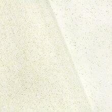 Ivory/Gold Glitter Tulle