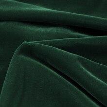Fairvel Dark Green Micro Velvet