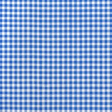 "Blue 1/4"" Gingham Oilcloth"