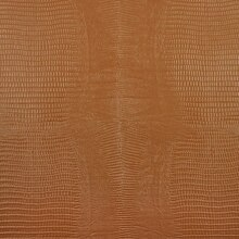 Reptile Faux Leather Vinyl, Ochre Brown