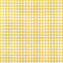 "Yellow 1/4"" Gingham Oilcloth"