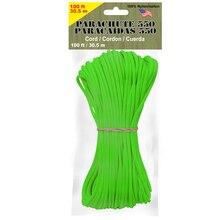 Pepperell 4 mm Parachute Cord, Neon Green