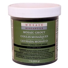 Mosaic Mercantile Sanded Grout, Black