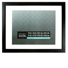 "Aspect Collection Black Frame by Studio Decor, 11"" x 14"""