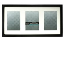 aspect collection black collage frame by studio decor 3 openings - Multiple Photo Frame