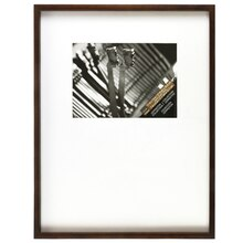 "Lexington Collection Walnut Frame With Mat by Studio Decor, 7"" x 5"""