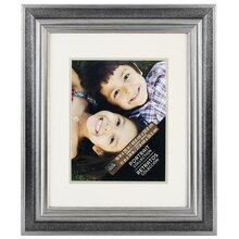 "Two-Tone Pewter Portrait Collection Frame by Studio Decor, 16"" x 20"""