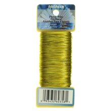 Panacea Floral Wire, Gold