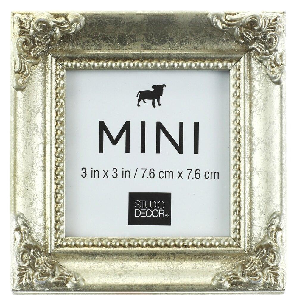 find the silver leaf mini frame with corner accent by. Black Bedroom Furniture Sets. Home Design Ideas