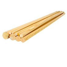 "36"" Wooden Dowel by ArtMinds, 1/4"""