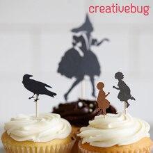 Halloween Cupcake Toppers, medium