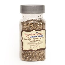 Vintage Glass Golden Glitter by Recollections